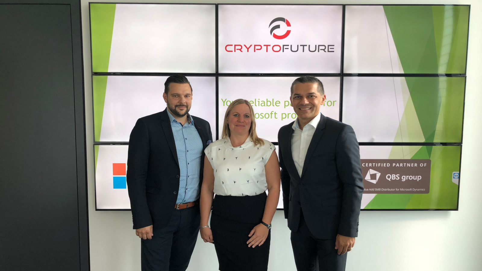 QBS visiting Crypto Future - strengthening our partnership!